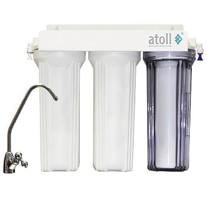 Проточный Фильтр для воды Atoll A-313 Egru
